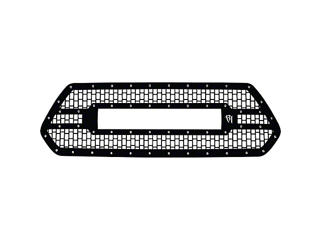 Rigid Industries Upper Replacement Grille for 20 in. E-Series LED Light Bar - Black (16-19 Tacoma)