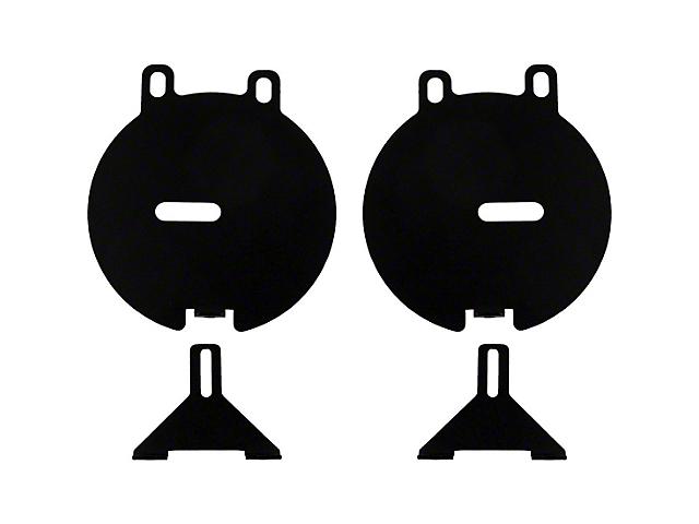 Rigid Industries D-Series Fog Light Mounting Brackets (12-15 Tacoma)