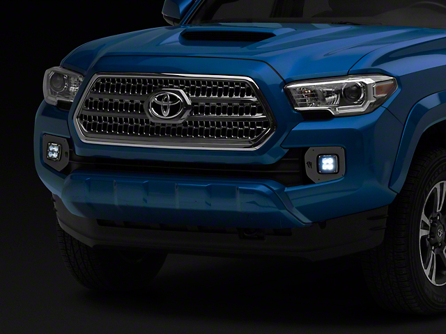 Rigid Industries D-Series LED Fog Lights w/ Mounting Brackets (16-19 Tacoma)