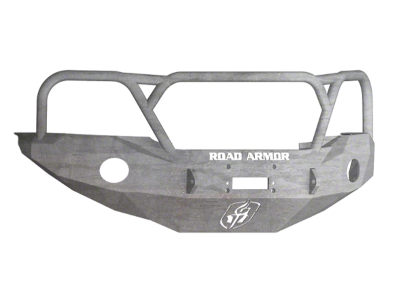 Road Armor Stealth Winch Front Bumper w/ Lonestar Guard - Raw (05-11 Tacoma)