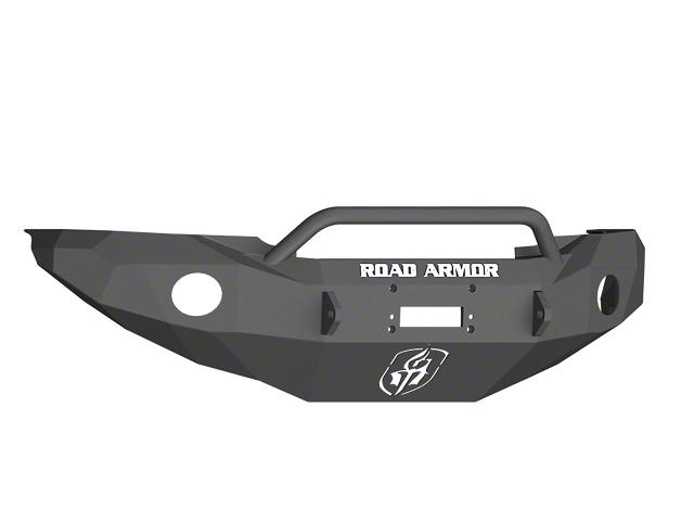 Road Armor Stealth Winch Front Bumper w/ Pre-Runner Guard - Satin Black (05-11 Tacoma)