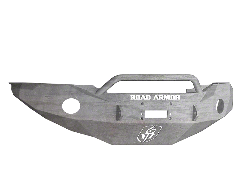 Road Armor Stealth Winch Front Bumper w/ Pre-Runner Guard - Raw (05-11 Tacoma)