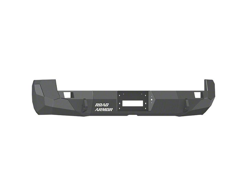 Road Armor Stealth Winch Rear Bumper - Satin Black (05-15 Tacoma)