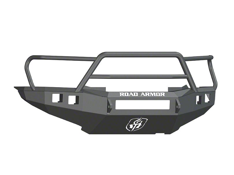 Road Armor Stealth Non-Winch Front Bumper w/ Lonestar Guard - Satin Black (12-15 Tacoma)