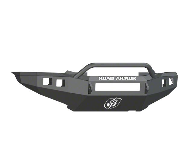 Road Armor Stealth Non-Winch Front Bumper w/ Pre-Runner Guard - Satin Black (12-15 Tacoma)