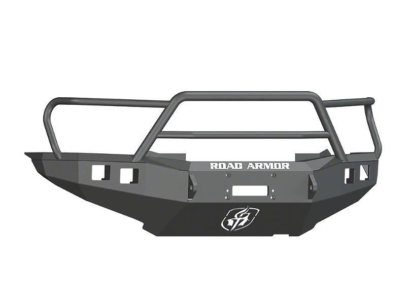 Road Armor Stealth Winch Front Bumper w/ Lonestar Guard - Satin Black (12-15 Tacoma)
