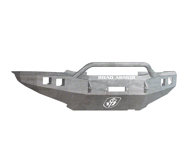 Road Armor Stealth Winch Front Bumper w/ Pre-Runner Guard - Raw (12-15 Tacoma)
