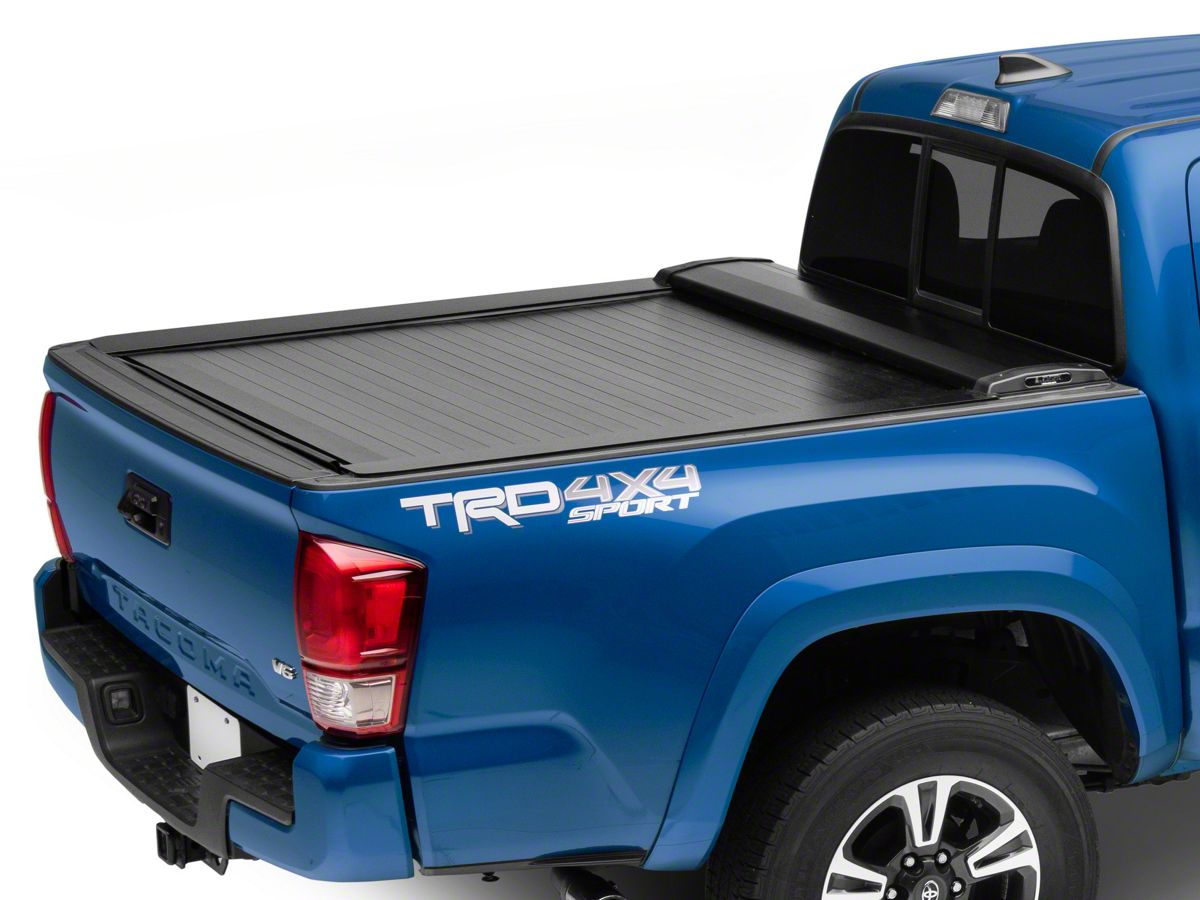 Pace Edwards Tacoma Switchblade Metal Retractable Bed Cover Gloss Black Tt2282 16 21 Tacoma