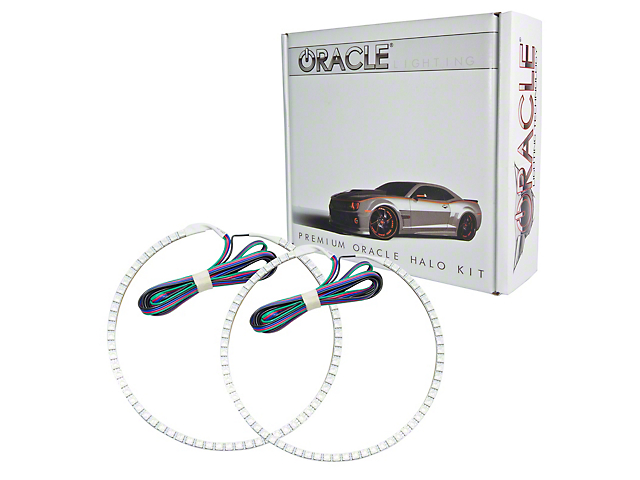 Oracle LED Halo Headlight Conversion Kit; ColorSHIFT (12-15 Tacoma)