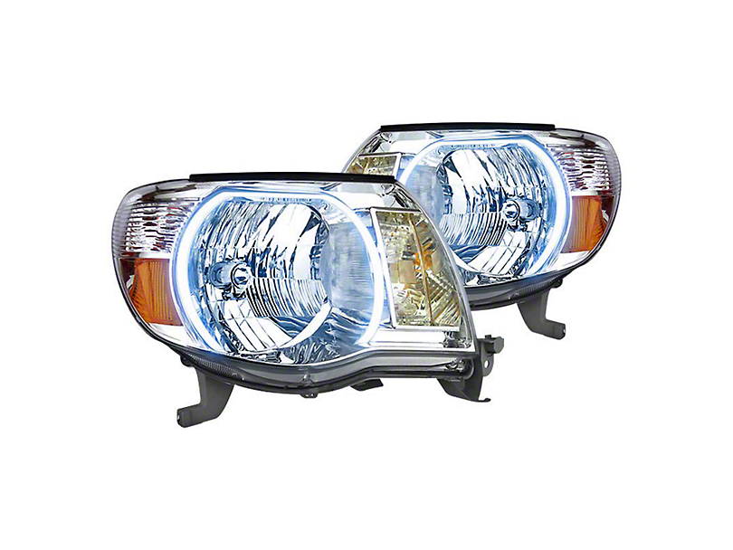 Oracle Chrome OE Style Headlights w/ CCFL Halos (05-11 Tacoma)