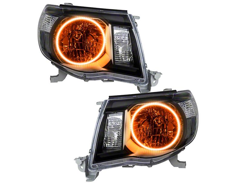 Oracle Black OE Style Headlights w/ LED Halos (05-11 Tacoma)