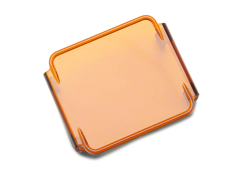 Rugged Ridge 3-Inch LED Light Cover - Amber