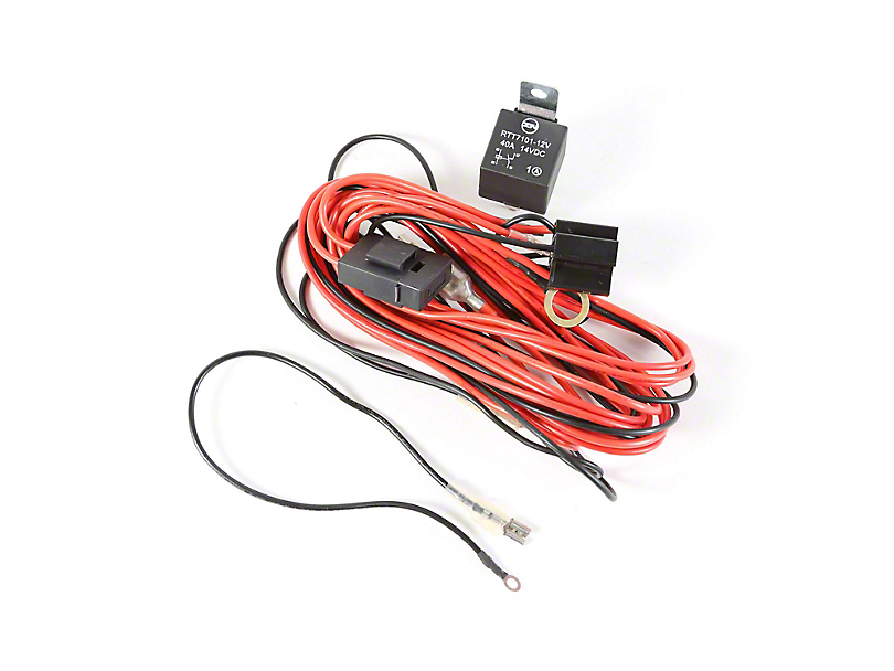 Rugged Ridge Wiring Harness for 2 HID Offroad Fog Lights