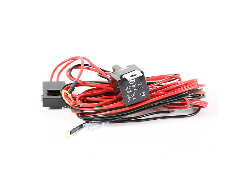 Rugged Ridge Wiring Harness for 3 HID Offroad Fog Lights