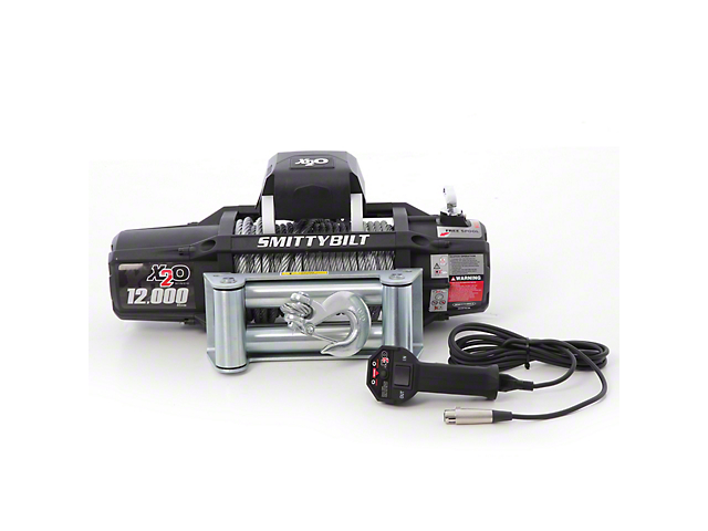 Smittybilt Gen2 X2O 12,000 lb. Winch with Wireless Control (Universal; Some Adaptation May Be Required)