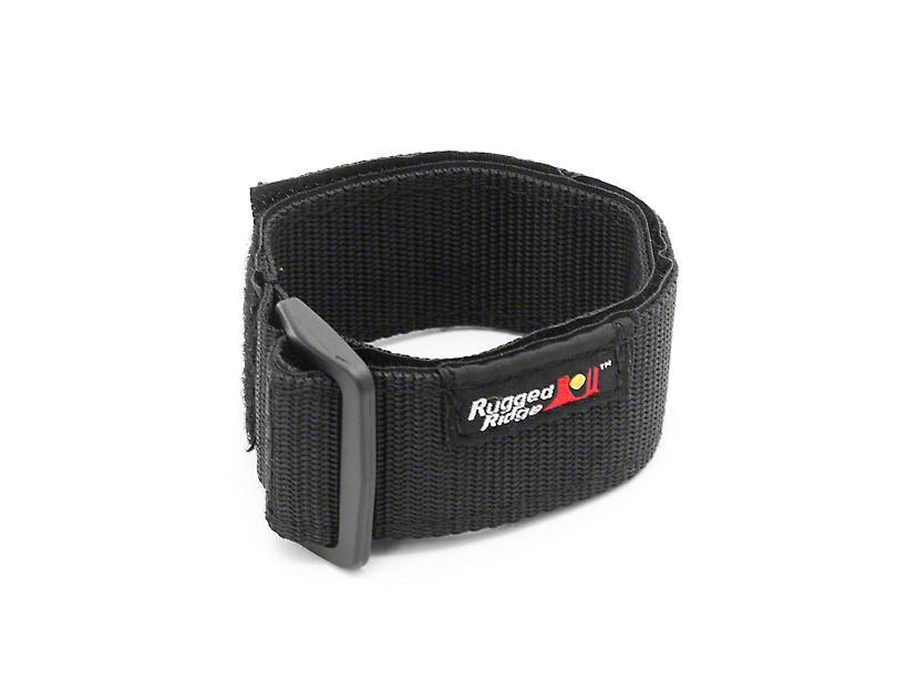 Rugged Ridge Offroad Jack Handle Retainer Strap - Black