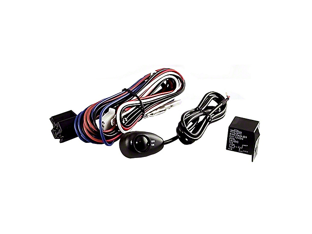 Rugged Ridge Light Installation Wiring Harness Kit for Three Off-Road Lights