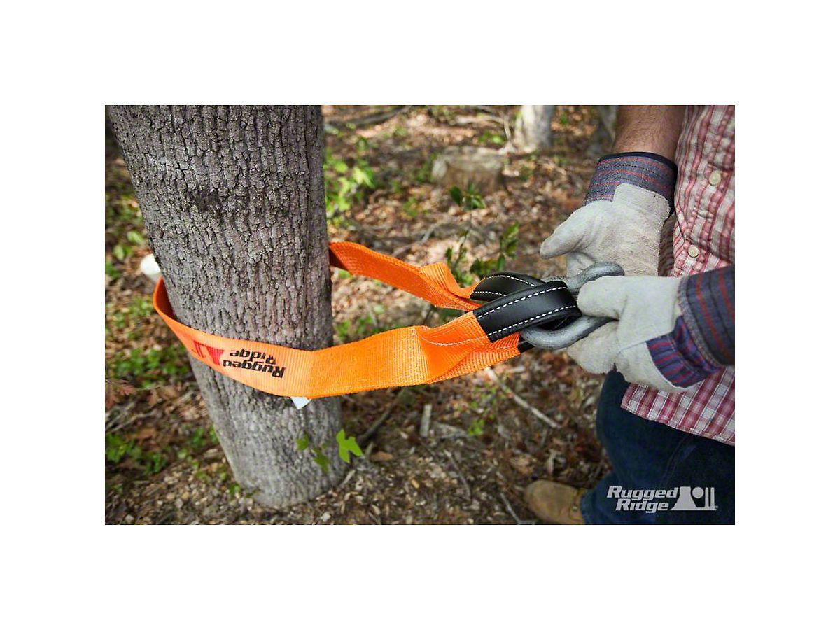 Tree Trunk Protector >> Rugged Ridge 2 In X 6 Ft Tree Trunk Protector 20 000 Lb