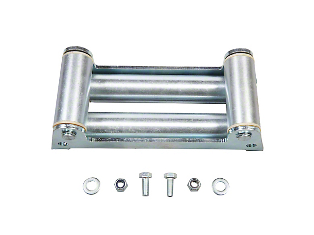 Rugged Ridge Winch Roller Fairlead w/ Light Mounting Holes