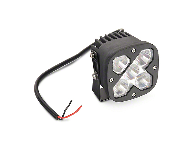 Raxiom 3-Inch Square High-Powered LED Light