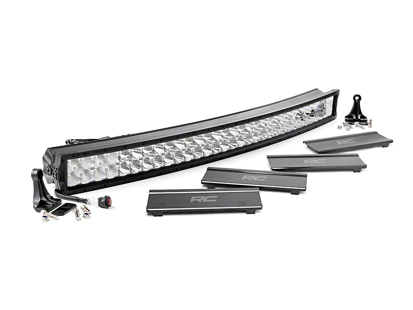 Rough Country 40 in. X5 Series Curved Dual Row LED Light Bar - Flood/Spot Combo