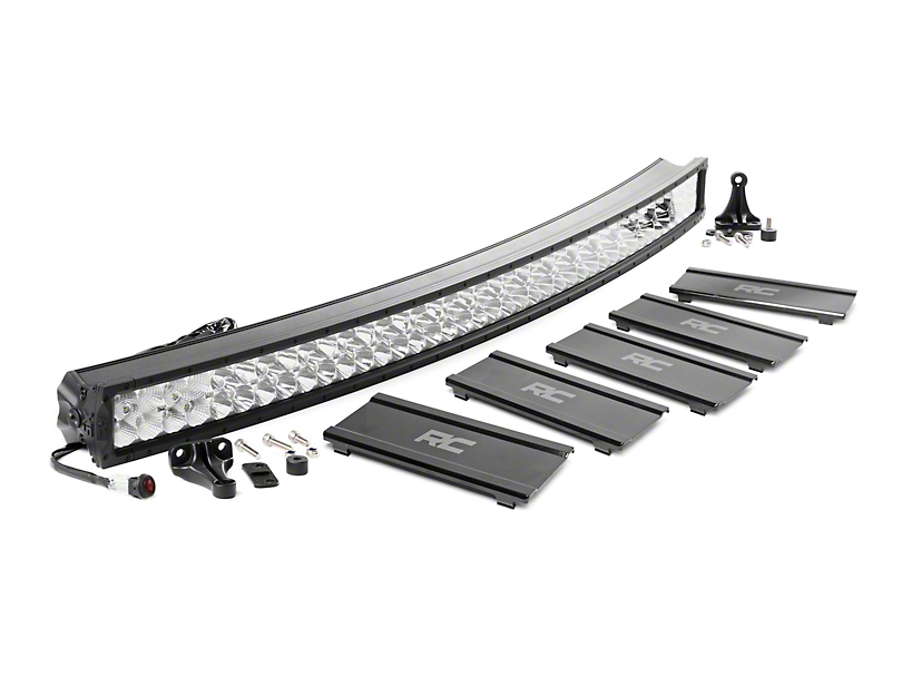Rough Country 52 in. X5 Series Curved Dual Row LED Light Bar - Flood/Spot Combo