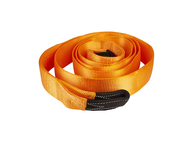 Havoc Offroad 4-Inch x 16.50-Foot Tree Saver Strap; 32,000 lb.