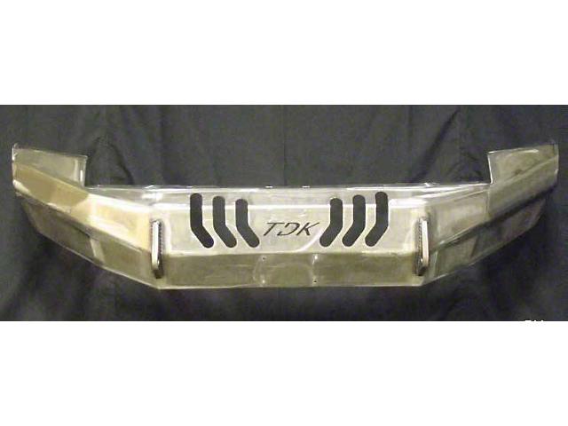 Throttle Down Kustoms Standard Front Bumper; Bare Metal (12-15 Tacoma)
