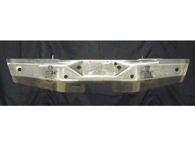 Throttle Down Kustoms Rear Bumper - Bare Metal (16-20 Tacoma)
