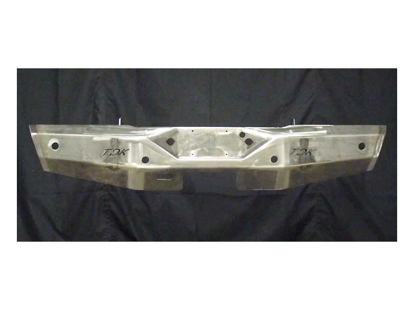 Throttle Down Kustoms Rear Bumper w/ Clevis Mounts & Dual LED Cube Light Holes - Bare Metal (12-15 Tacoma)