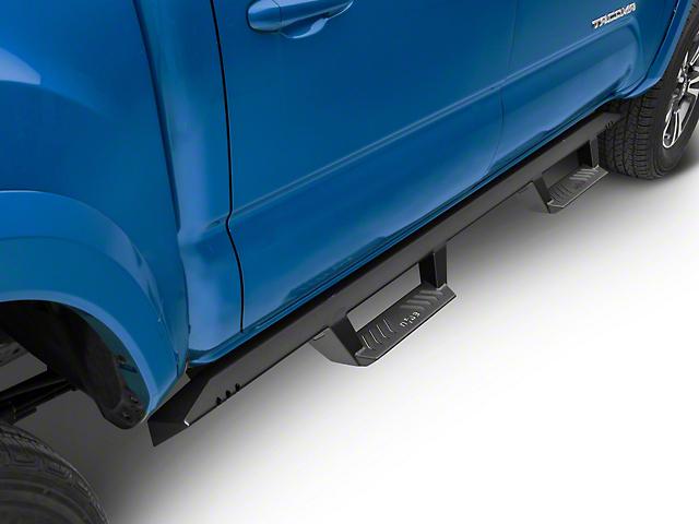 N-Fab EpYx Cab Length Nerf Side Step Bars - Textured Black (05-19 Tacoma Double Cab)