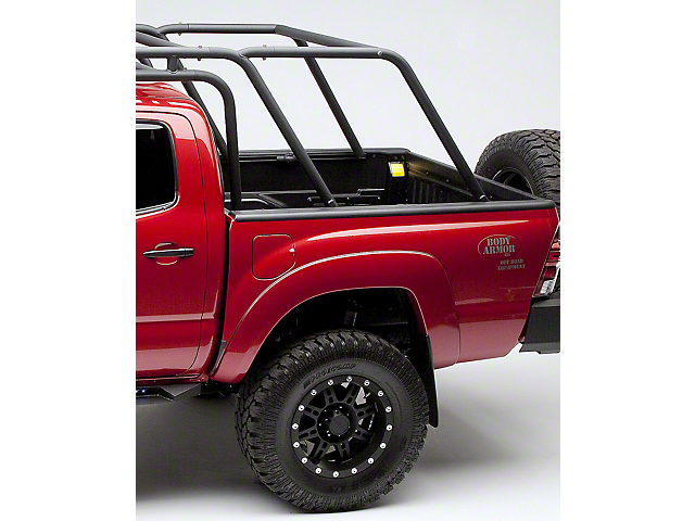 Body Armor 4x4 Sport Rack with Basket (05-15 Tacoma Double Cab)