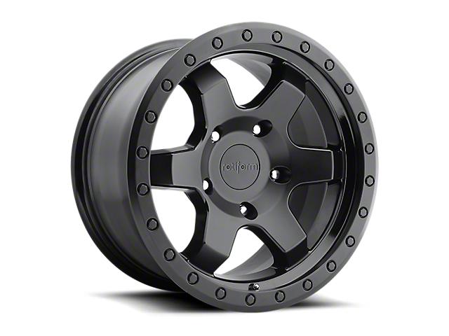 Rotiform SIX-OR Matte Black 6-Lug Wheel; 20x9; 1mm Offset (05-15 Tacoma)