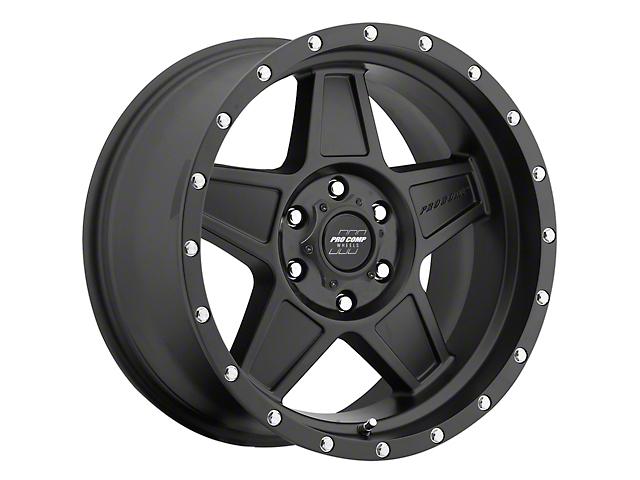 Pro Comp Wheels Predator Satin Black 6-Lug Wheel; 18x9; 0mm Offset (16-21 Tacoma)