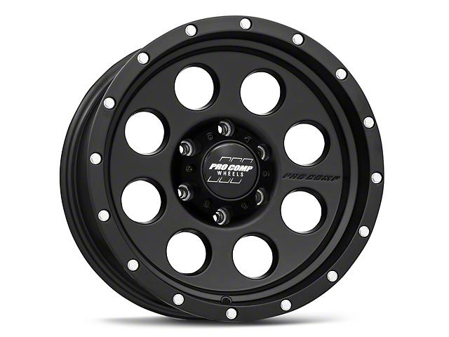 Pro Comp Wheels Proxy Satin Black 6-Lug Wheel; 17x9; -6mm Offset (05-15 Tacoma)