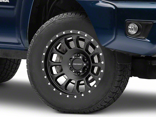 Pro Comp Wheels Rockwell Satin Black 6-Lug Wheel - 18x9; 0mm Offset (05-19 Tacoma)