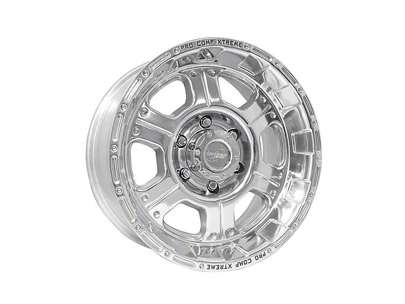 Pro Comp Wheels Kore Polished 6-Lug Wheel; 17x9; -6mm Offset (05-15 Tacoma)