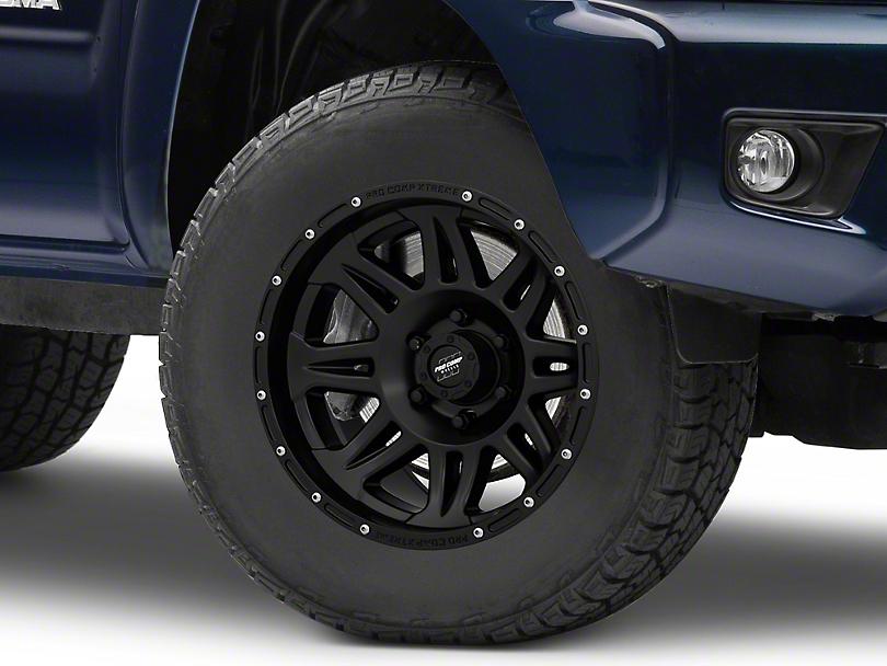 Pro Comp Wheels 05 Series Matte Black 6-Lug Wheel - 17x9; -6mm Offset (05-20 Tacoma)
