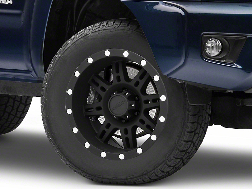 Pro Comp Wheels 31 Series Matte Black 6-Lug Wheel; 18x9; 0mm Offset (05-15 Tacoma)