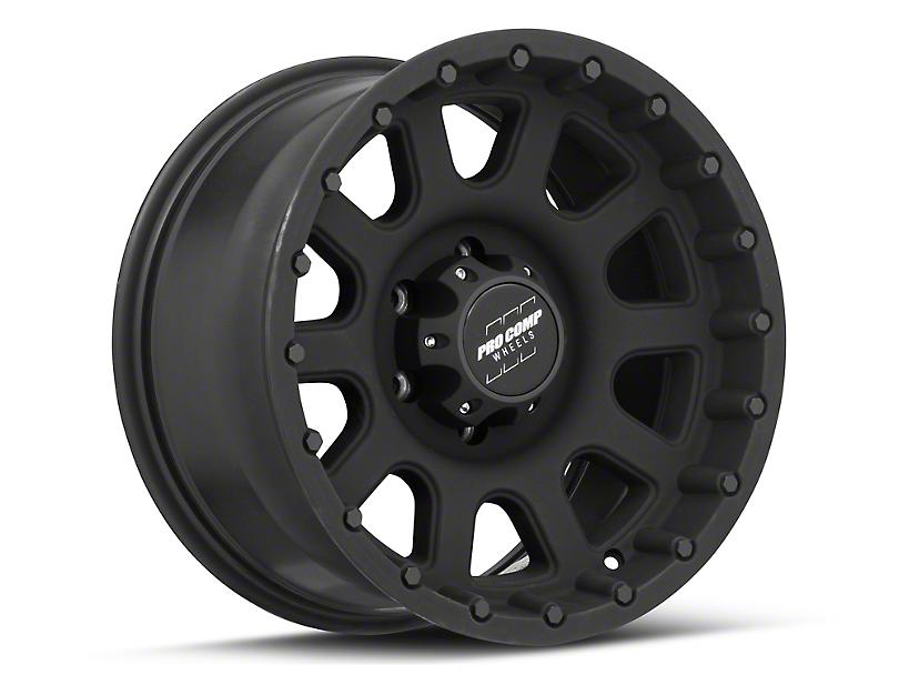 Pro Comp Wheels 32 Series Matte Black 6-Lug Wheel; 17x9; -6mm Offset (05-15 Tacoma)
