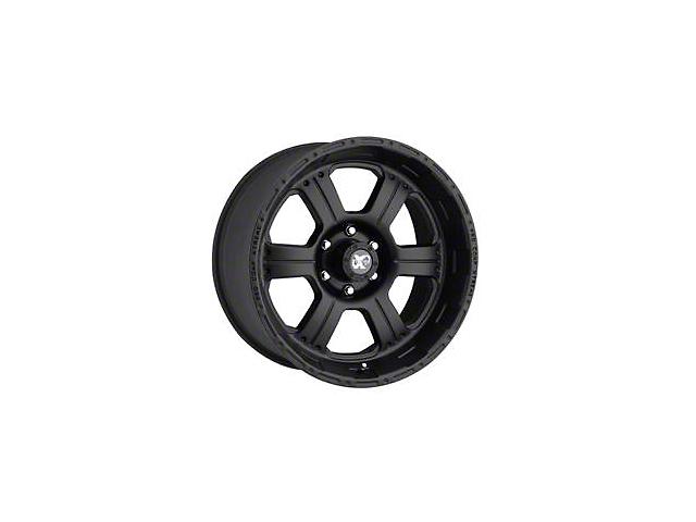 Pro Comp Wheels 89 Series Matte Black 6-Lug Wheel - 17x8; 0mm Offset (05-20 Tacoma)