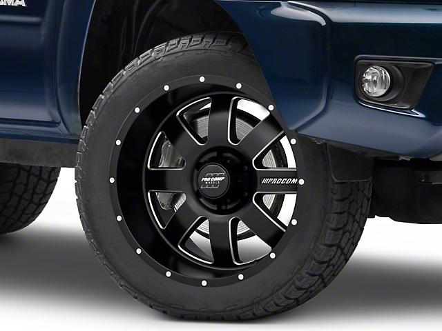 Pro Comp Wheels Trilogy Satin Black 6-Lug Wheel; 20x10; -18mm Offset (05-15 Tacoma)