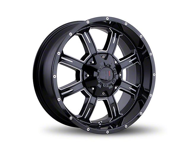 Havok Off-Road H101 Black Milled 6-Lug Wheel - 18x9 (05-19 Tacoma)