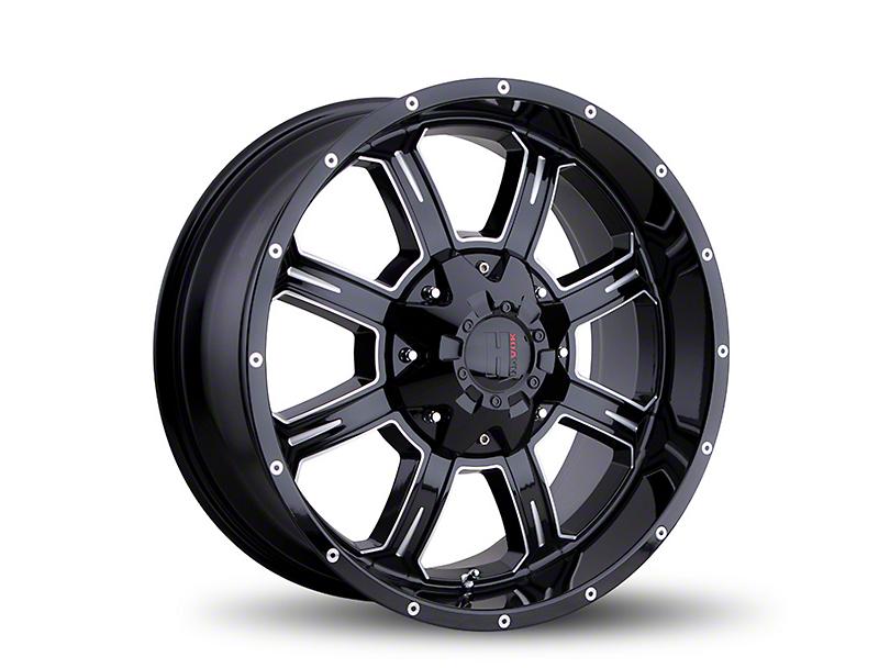 Havok Off-Road H101 Black Milled 6-Lug Wheel - 20x9 (05-19 Tacoma)
