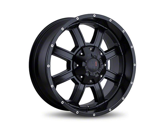 Havok Off-Road H101 Matte Black 6-Lug Wheel - 18x9; -12mm Offset (05-19 Tacoma)
