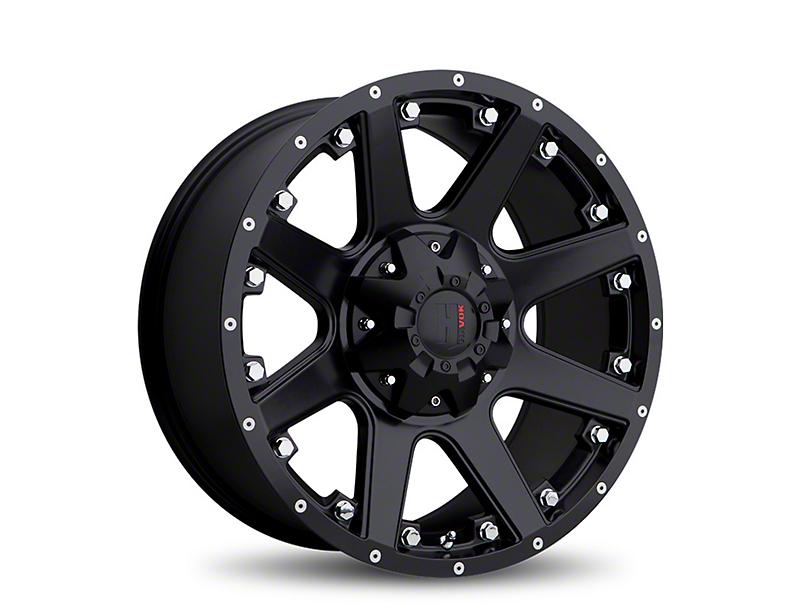 Havok Off-Road H102 Matte Black 6-Lug Wheel - 18x9; -12mm Offset (05-19 Tacoma)