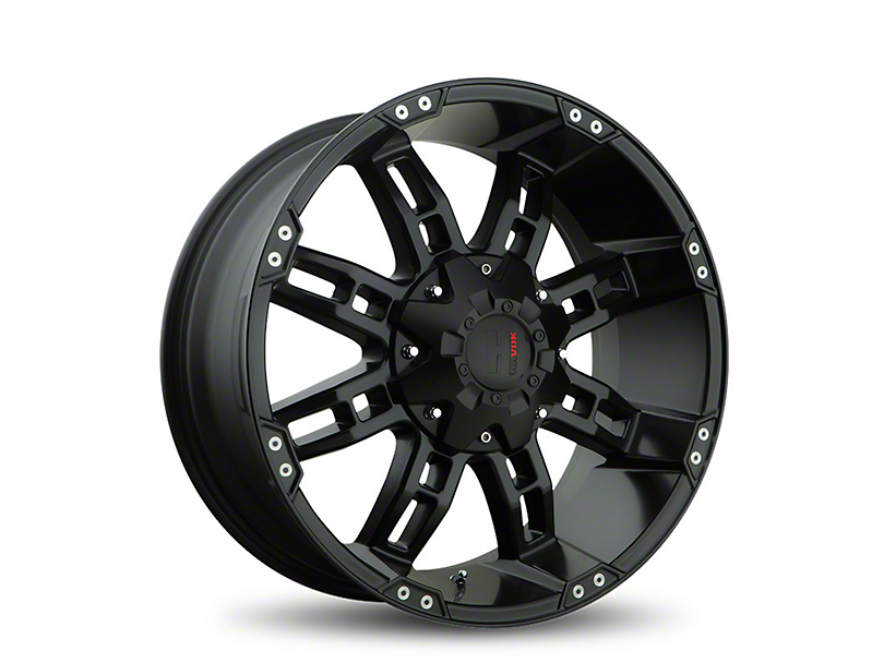 Havok Off-Road H103 Black Milled 6-Lug Wheel - 18x9 (05-19 Tacoma)