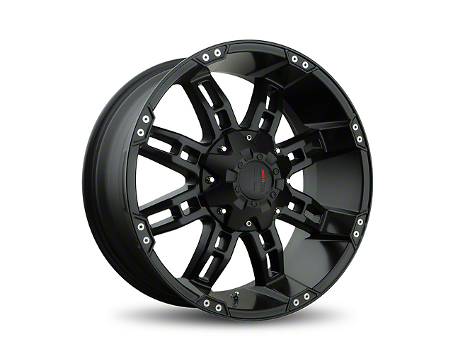 Havok Off-Road H103 Black Milled 6-Lug Wheel; 18x9 (05-20 Tacoma)