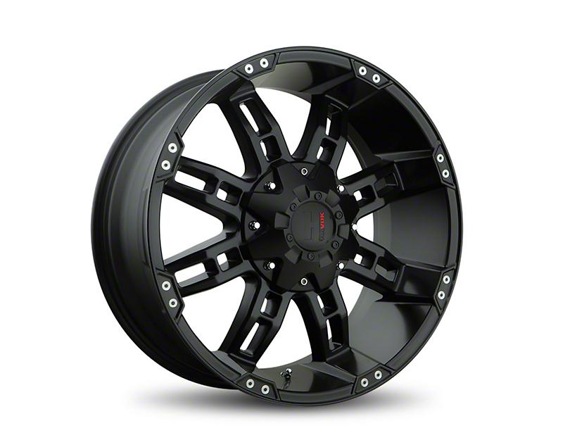 Havok Off-Road H103 Matte Black 6-Lug Wheel - 18x9; -12mm Offset (05-19 Tacoma)
