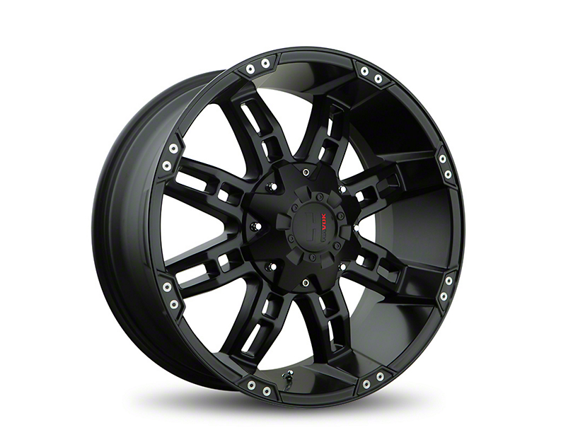 Havok Off-Road H103 Matte Black 6-Lug Wheel - 20x9 (05-19 Tacoma)